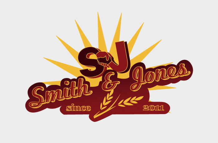 Smith and Jones Logo Design
