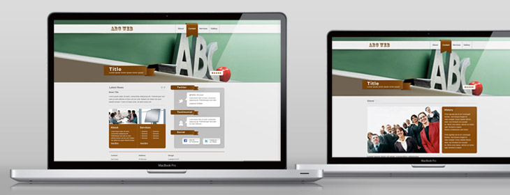 web template design
