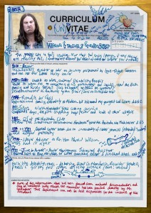 Franks CV from Shameless online viral