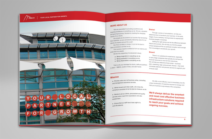 Abkin Brochure more inner pages designs