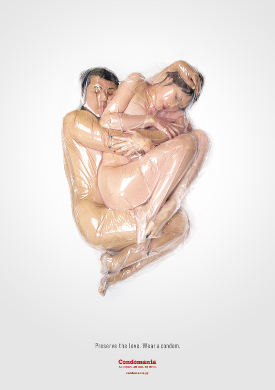 An image from the Condomania Preserve the love campaign.