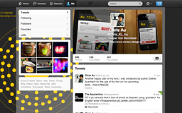My new Twitter profile page design